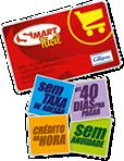 O novo Cartão Smart  Mastercard® é um cartão de megavantagens para você: mais crédito, mais prazo e mais benefícios.